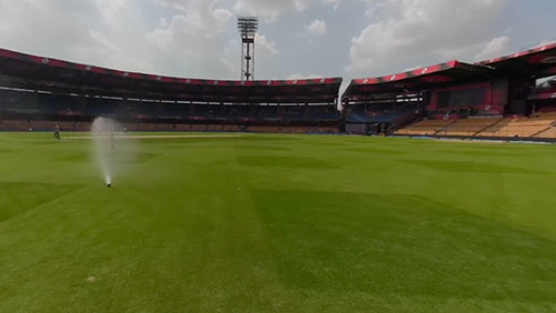 Chinnaswamy gears up for its first game, April 13