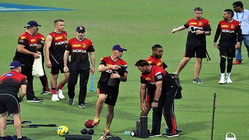KKR gears up for its first game, April 7